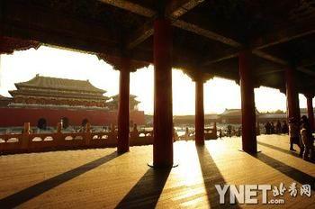 北京故宫手绘