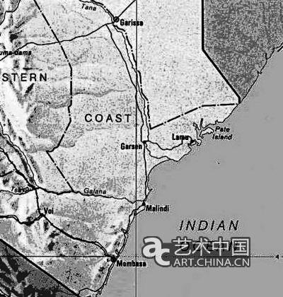 """《郑和航海图》中出现的地名""""慢八撒""""就是"""