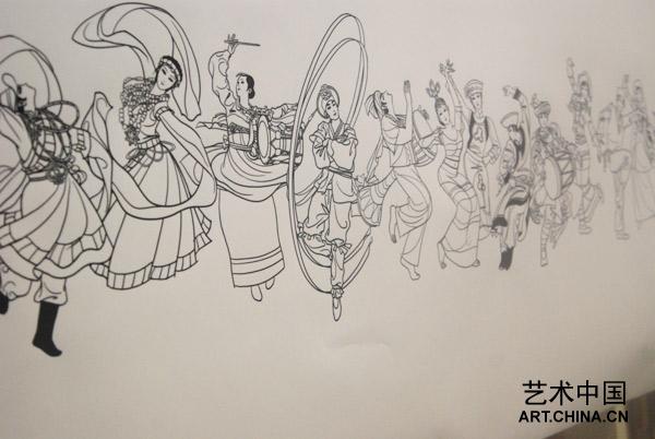 艺术中国对国庆彩车与民族柱设计团队进行专访