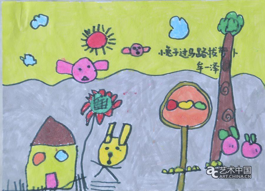 杭州西湖儿童画分享展示_乐乐简笔画