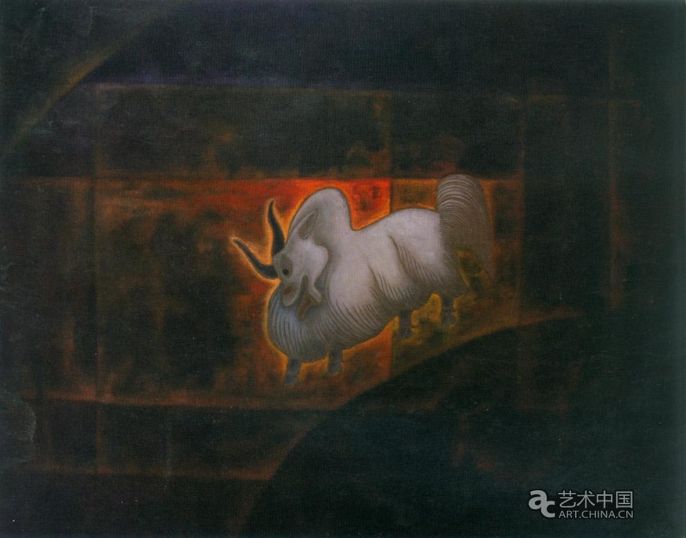 牦牛守护神_推荐作品_艺术中国