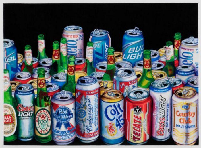 汤姆·桑福德(tom sanford), 《50瓶啤酒》(50 beers),2010.图片