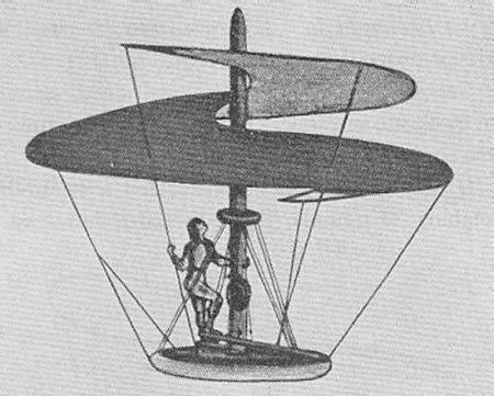 达芬奇直升机模型图片