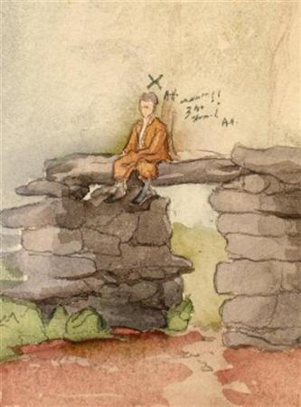 军事资讯_希特勒13幅早期画作 将于23日被拍卖(图)_海外_艺术中国