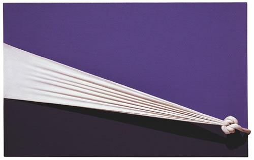 艺术/Jorge Eielson绳结艺术Quipus