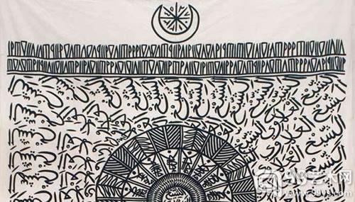 阿尔及利亚艺术家Rachid Koraïchi 作品
