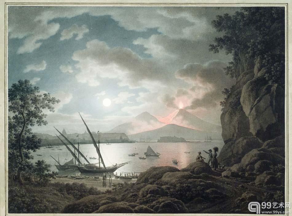 意大利风景画大师迟到两百年的首次个展为其正名