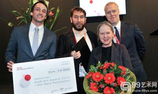 捷克艺术家Zbynek Baladran获得2013年科隆艺博会奥迪艺术奖
