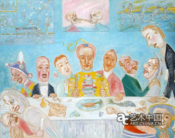 动漫欧式宴会背景