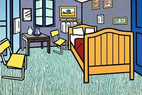 """""""宅男""""梵谷的房间:黄房子裏是他内心的栖息地图片"""