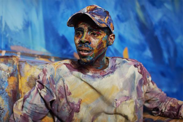 人体艺术电影将肖像油画带入现实世界