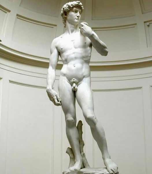 米开朗基罗雕塑作品《大卫》