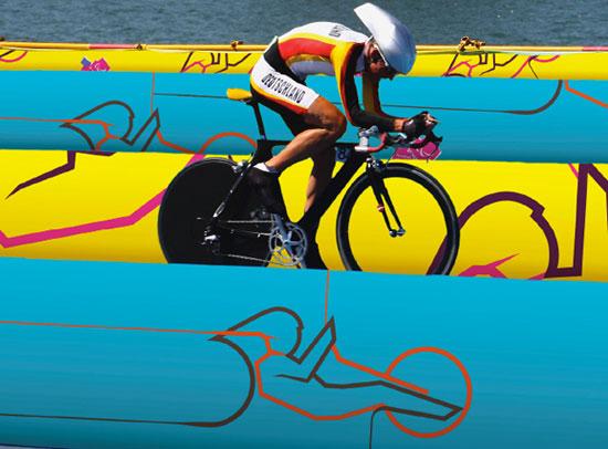 动感身影──伦敦2012奥运会赛事图标公布