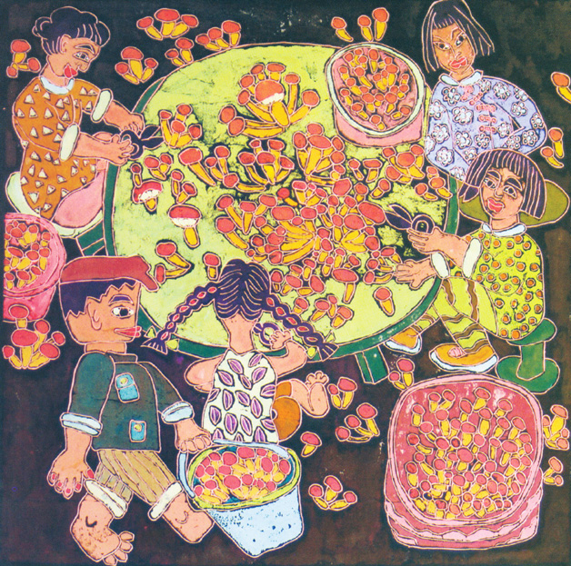 美丽中国美好家园画_中国画乡·庄河现代民间绘画展 _绘画_艺术中国
