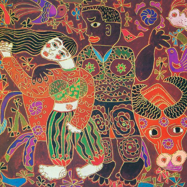 武清初中中国现代画乡绘画展保利庄河颂雅上河民间图片