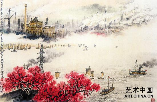 人物、山水、花鸟、诗文打通变化,为中国画创新提供了不可多