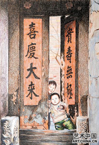 中国新钢笔画的风向标 钢笔彩画