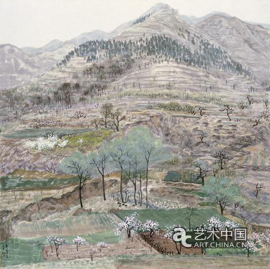 笔墨淡彩新语境:李翔中国画展中国美术馆开幕