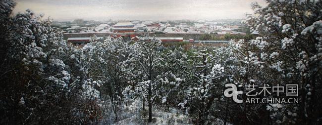 林茂油画风景作品展