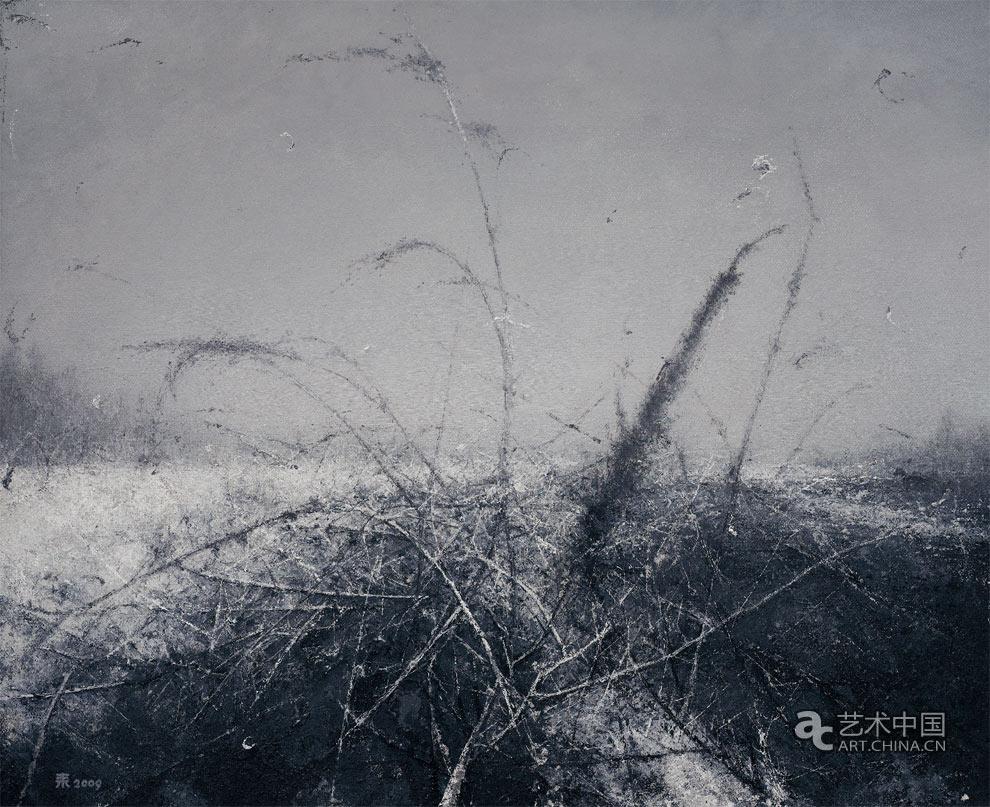 风景 张耒 50 cm×60 cm 布面油画 2009年
