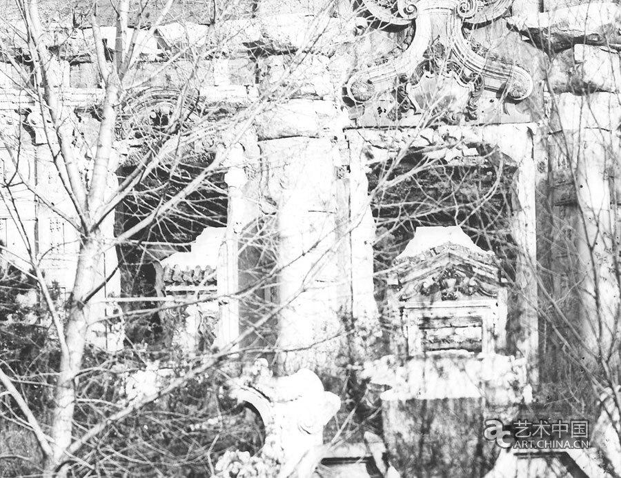 奥尔末圆明园历史影像展开幕,残园惊梦——奥尔末圆明园历史影像