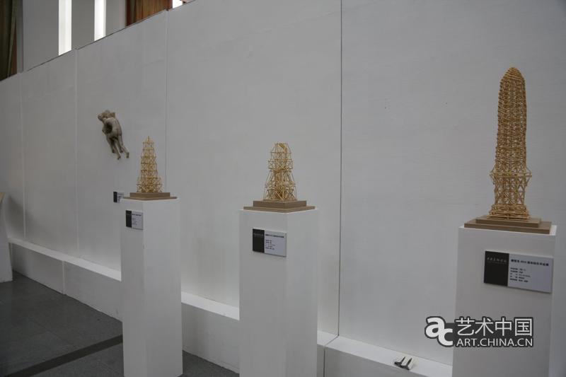 雕塑系毕业展作品