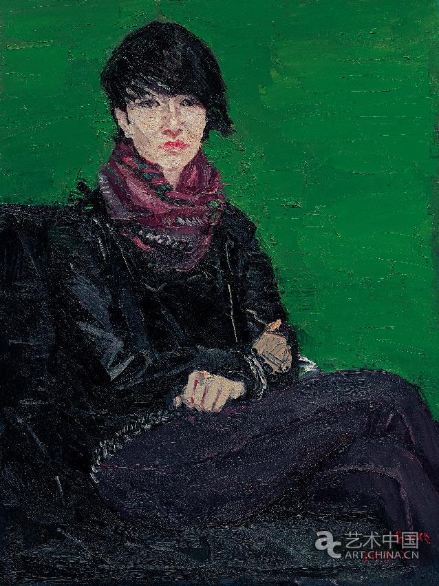 北京 焦小健/80后女生 焦小健80 cm×60 cm 布面油画2009年