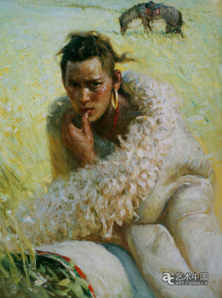藏族青年 展览作品