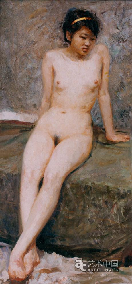 女人体110x50油画