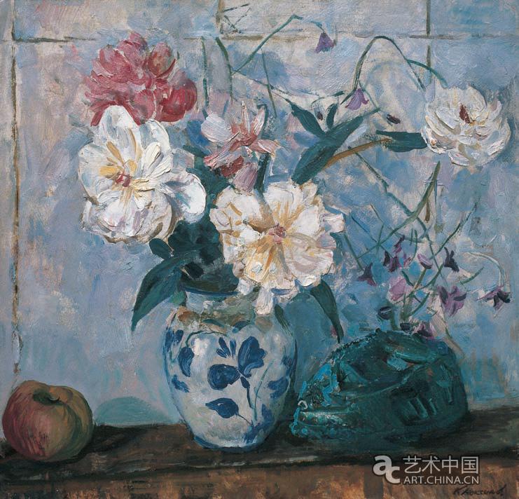 牡丹花_作品图片_艺术中国; 马克西莫夫作品; ,同时也看到了中国油画