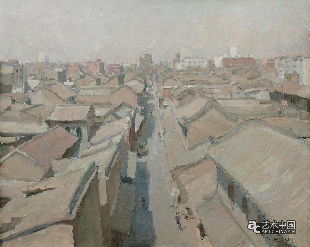 中国美协油画写生视频_孙逊 古城_作品图片_艺术中国