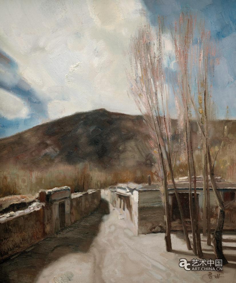 中国美协油画写生视频_马琳 西藏写生—山南_作品图片_艺术中国