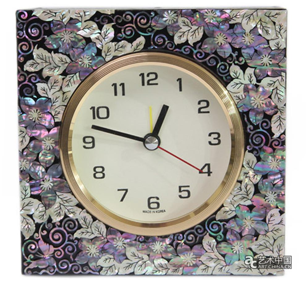 钟表水印素材图片