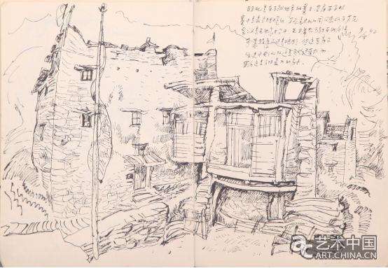 藏族地图儿童画画