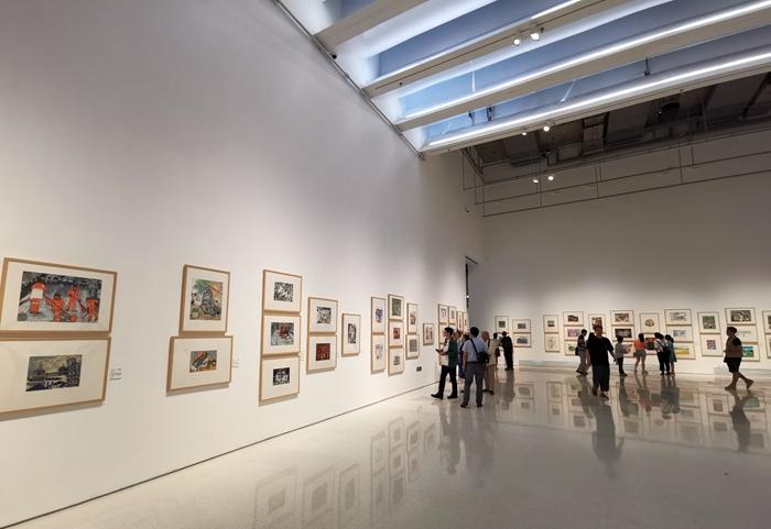 首届全国少儿美术作品展在京开幕