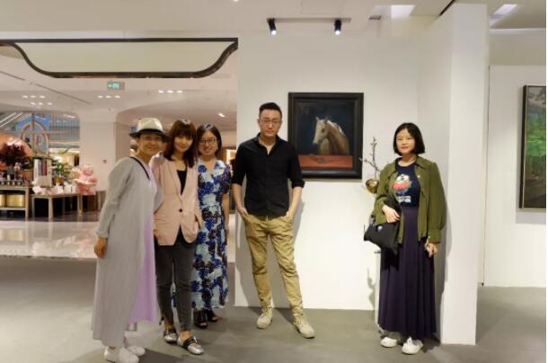 墨斗鱼艺术Artmorn青年艺术家群展北京SKP开幕