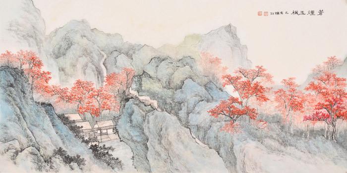 那些画中的风景,那些高山翠嶂,江流巨津,茂林修竹,平滩远渚,是画家