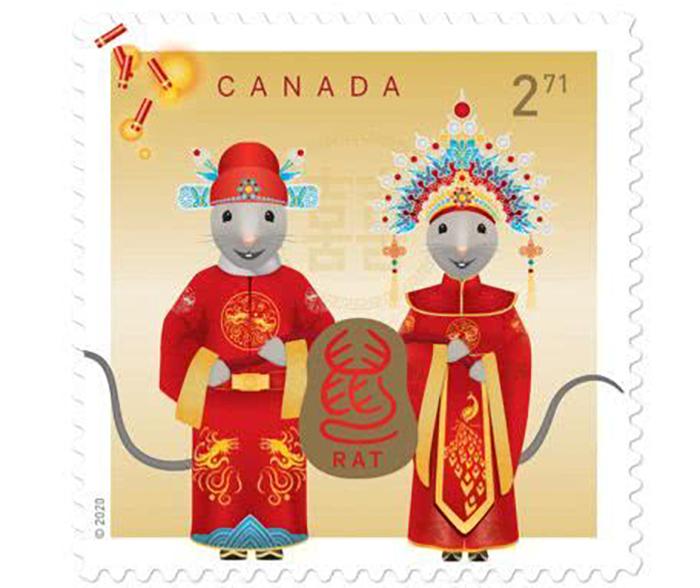 哪个国家的鼠年邮票才是你的最爱