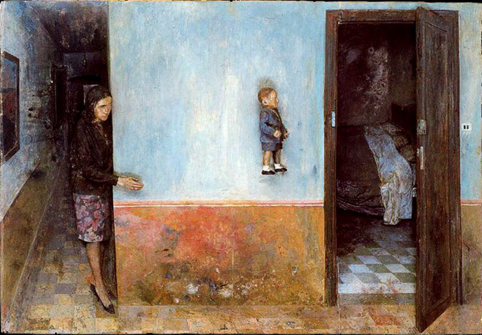 室内绘画:宅家无聊,该怎样面对熟悉的白墙?