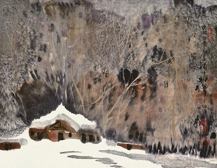 《【鹿鼎在线登陆注册】水墨下的雨、雪、夜——徐希回顾展北京画院美术馆开幕》
