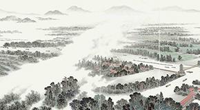 """《中国大运河史诗图卷展》描绘大运河的""""前世"""