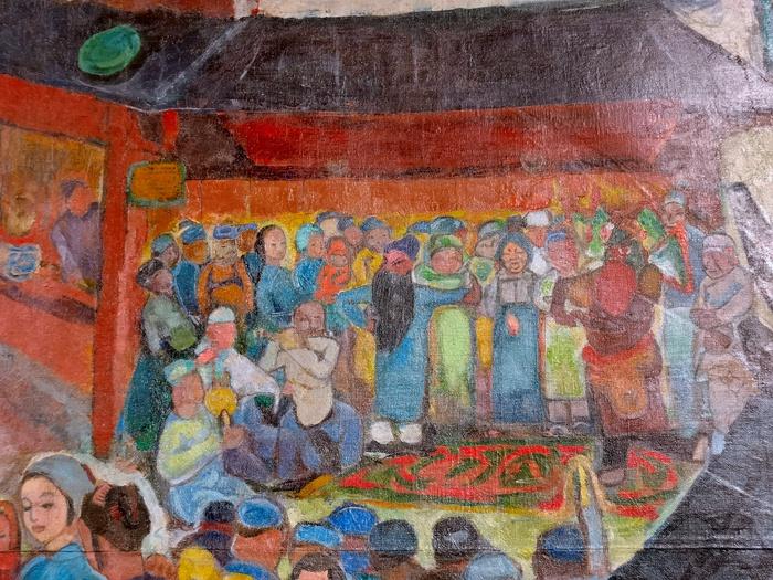 《【鹿鼎注册地址】袁运生曾遗失的画作成就一次展览 撑起一个时代的印记》