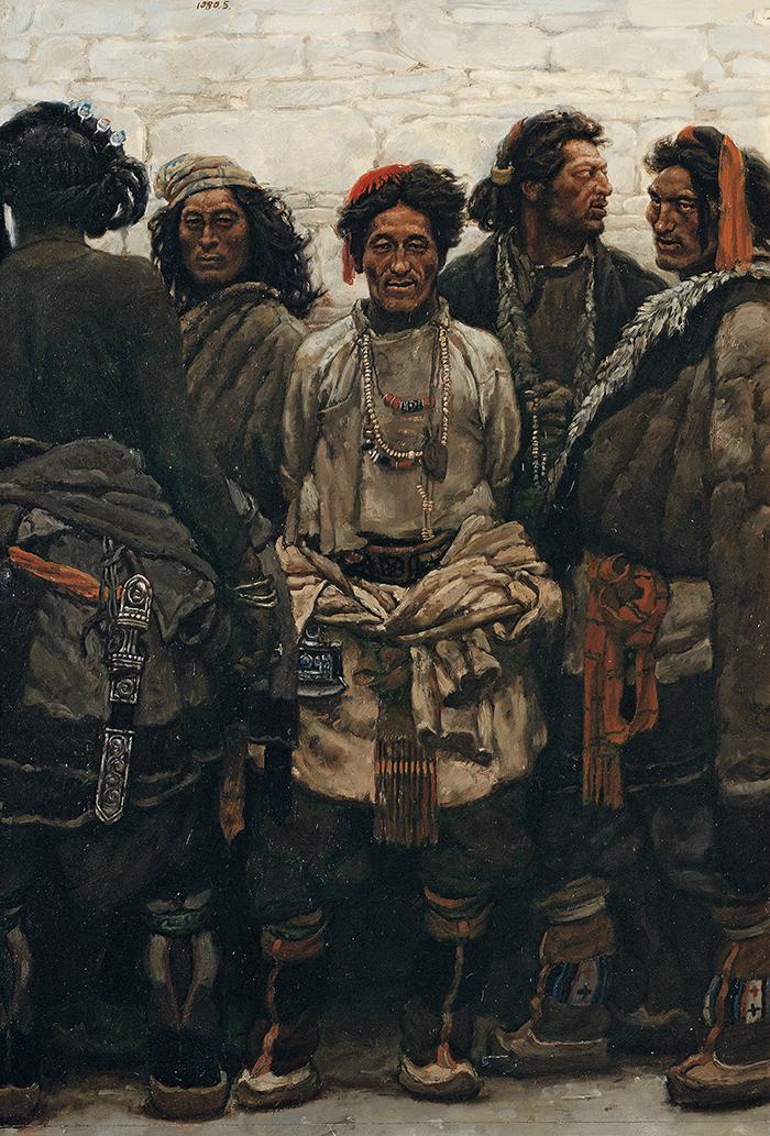 四十年后,再看陈丹青《西藏组画》