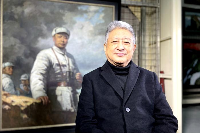 建党百周年 丹青忆峥嵘   张祖英谈《创业艰难百战多》