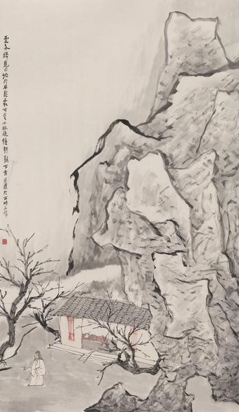金陵怀古--金心明2013水墨文献展