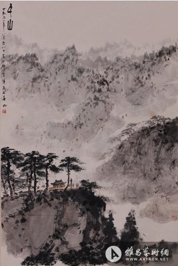 齐白石等名师佳作亮相保利香港中国近现代书画场