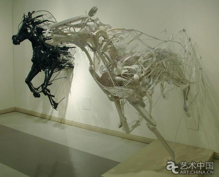 环保雕塑图片
