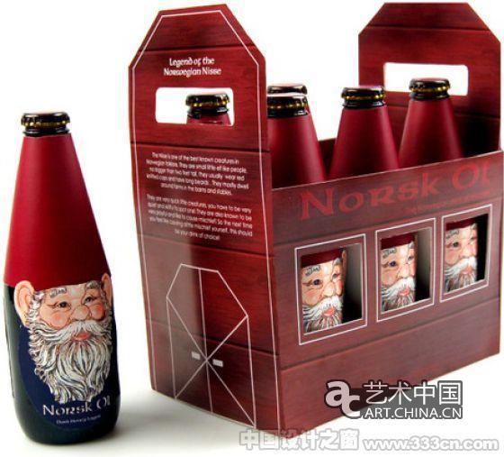 创意瓶造型包装设计集锦图片