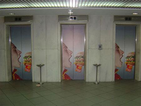 引爆眼球的35个电梯创意广告 一 艺术中国