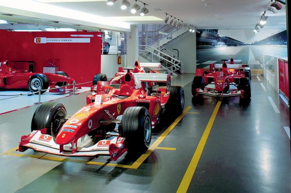 揭秘法拉利博物馆 f1赛车进化史高清图片